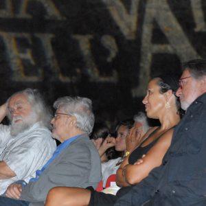 F. Marotti, E. Scola, O. Gregoretti. F. Laudadio - La Valigia dell'attore 2012 - Foto Fabio Presutti