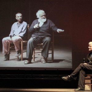 Mario Martone - La valigia dell'attore 2011 - Foto di Eugenio Mangia