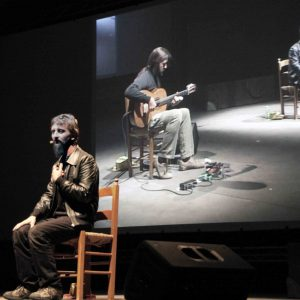 La fila indiana - Ascanio Celestini - La valigia dell'attore 2011 - Foto di Eugenio Mangia 1