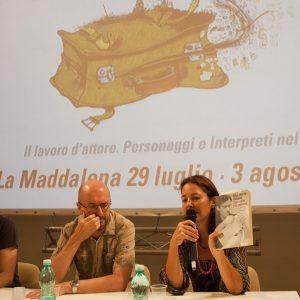 M. Capozzoli, A. De la Fuente, V. Mannelli - La valigia dell'attore 2014 - Foto di Nanni Angeli