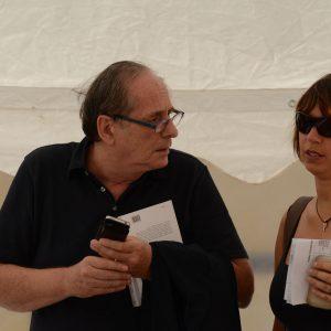 Michele Mondella, Monica Bulciolu - La valigia dell'attore 2014 - Foto di Fabio Presutti