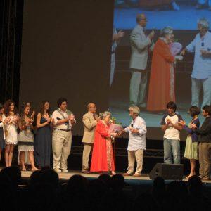 Omaggio a Lia Origoni - La valigia dell'attore 2010 - Foto di Gianni Fano