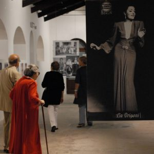 Mostra Lia Origoni - La valigia dell'attore 2010 - Foto di Fabio Presutti