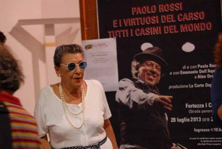 Vera Pescarolo - La valigia dell'attore 2013 - Foto di Fabio Presutti