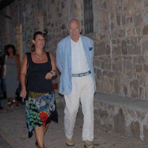 Giuliano Montaldo, Monica Bulciolu - La valigia dell'attore 2013 - Foto di Fabio Presutti