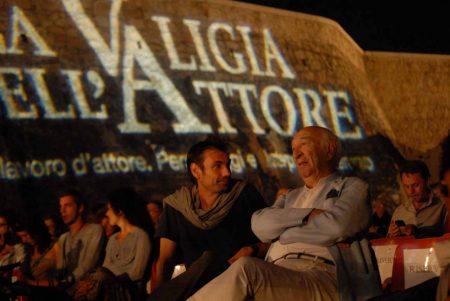 Fabrizio Gifuni, Giuliano Montaldo - La valigia dell'attore 2013 - Foto di Fabio Presutti