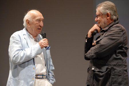 Giuliano Montaldo, Felice Laudadio - La valigia dell'attore 2013 - Foto di Fabio Presutti 1