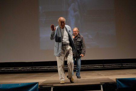 Giuliano Montaldo, Felice Laudadio - La valigia dell'attore 2013 - Foto di Fabio Presutti 2