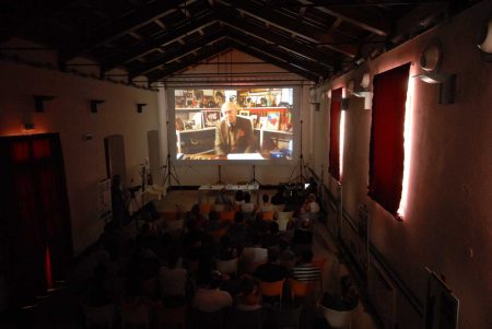 Magazzini Ex Ilva - Incontro con G. Montaldo - La valigia dell'attore 2013 - Foto di Fabio Presutti