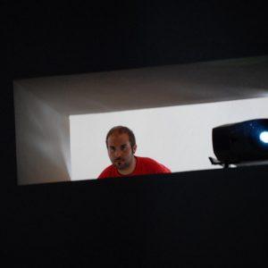 Magazzini Ex Ilva - Andrea Bebbu - La valigia dell'attore 2013 - Foto di Fabio Presutti