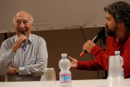 Giuliano Montaldo, Boris Sollazzo - La valigia dell'attore 2013 - Foto di Fabio Presutti