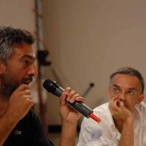 Salvatore Mereu, Fabrizio Deriu - La valigia dell'attore 2013 - Foto di Fabio Presutti