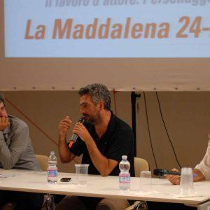 B. Sollazzo, S. Mereu, Fabrizio Deriu - La valigia dell'attore 2013 - Foto di Fabio Presutti