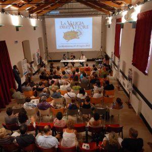 Magazzini Ex Ilva - Incontro con S. Mereu - La valigia dell'attore 2013 - Foto di Fabio Presutti
