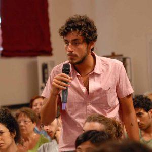 Magazzini Ex Ilva - Incontro con G. Columbu - La valigia dell'attore 2013 - Foto di Fabio Presutti