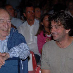 Giuliano Montaldo, Adriano Tovo - La valigia dell'attore 2013 - Foto di Fabio Presutti 1