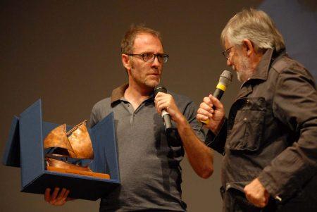 Premio Volonté - Valerio Mastandrea, Felice Laudadio - La valigia dell'attore 2013 - Foto di Fabio Presutti