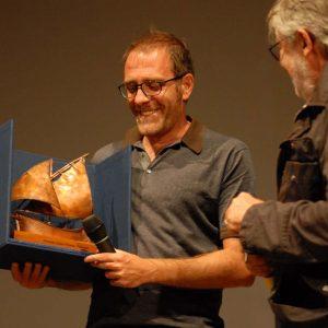 Premio Volonté - Valerio Mastandrea, Felice Laudadio - La valigia dell'attore 2013 - Foto di Fabio Presutti 2