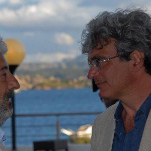 Gianfranco Cabiddu, Mario Martone - La valigia dell'attore 2011 - Foto di Fabio Presutti