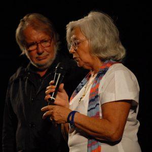 Paola Petri, Felice Laudadio - La valigia dell'attore 2012 - Foto Fabio Presutti