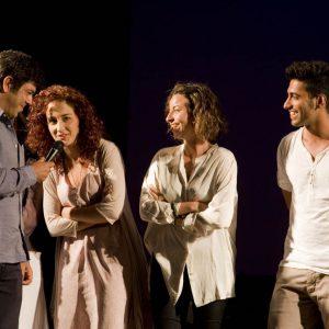 Pierfrancesco Favino con gli allievi del ValigiaLab - La valigia dell'attore 2012 - Foto di Nanni Angeli 3