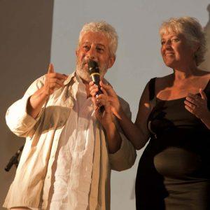 Gianfranco Cabiddu, Francesca Solinas - La Valigia dell'attore 2015 - Foto di Nanni Angeli