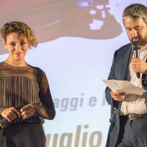 Premio Volonté - Jasmine Trinca, Boris Sollazzo - La valigia dell'attore 2015 - Foto di Fabio Presutti