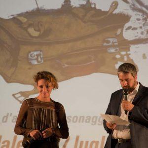 Premio Volonté - Jasmine Trinca, Boris Sollazzo - La valigia dell'attore 2015 - Foto di Nanni Angeli