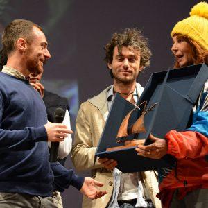 Premio Volonté - Elio Germano, Angelica Ippolito - La valigia dell'attore 2014 - Foto di Fabio Presutti