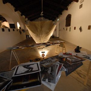 Fortezza I Colmi - Mostra di Sergio Tramonti - La valigia dell'attore 2011 - Foto di Fabio Presutti 1