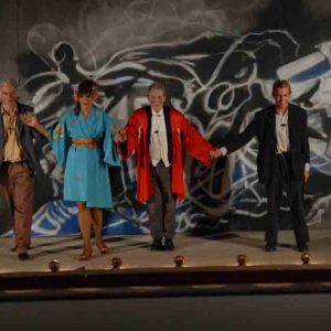Sik - Sik - L'artefice magico - Tommaso Ragno, Angelica Ippolito, Carlo Cecchi, Dario Iubatti - La valigia dell'attore 2012 - Foto di Fabio Presutti