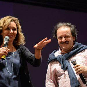 Valeria Golino, Enrico Magrelli - La valigia dell'attore 2014 - Foto di Fabio Presutti