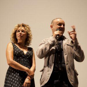 Valeria Golino, Marco S. Puccioni - La valigia dell'attore 2014 - Foto di Nanni Angeli