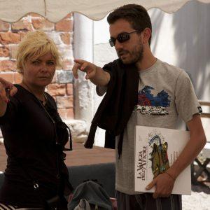 Valeria Serra, Gianluca Bianchini - La valigia dell'attore 2014 - Foto di Nanni Angeli
