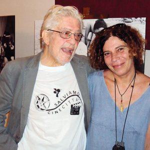 Ettore Scola, Giovanna Gravina - La valigia dell'attore 2012 - Foto di Fabio Canessa