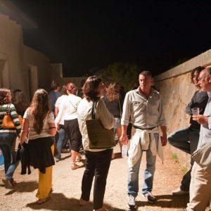 Punto ristoro - Fortezza I Colmi - La valigia dell'attore 2010 - Foto di Eugenio Schirru 2