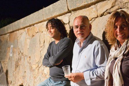 Punto ristoro - Fortezza I Colmi - M. G. Belli, F. Canu - La valigia dell'attore 2010 - Foto di Eugenio Schirru