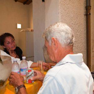 Punto ristoro - Fortezza I Colmi - T. Di Fraia, A. Biosa - La valigia dell'attore 2010 - Foto di Eugenio Schirru