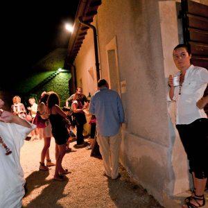 Punto ristoro - Fortezza I Colmi - G. Sini, L. Ledda - La valigia dell'attore 2010 - Foto di Eugenio Schirru