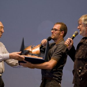 Premio Volonté - Giuliano Montaldo, Valerio Mastandrea, Felice Laudadio - La valigia dell'attore 2013 - Foto di Nanni Angeli