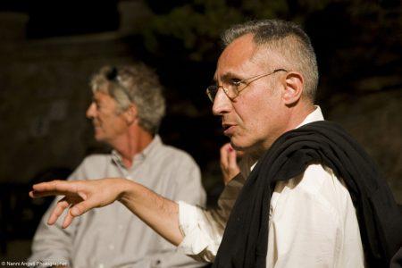Giovanni Columbu, Mike Bava - La valigia dell'attore 2013 - Foto di Nanni Angeli