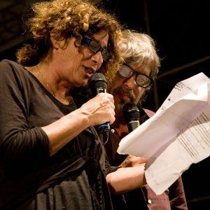 Giovanna Gravina, Paolo Rossi - La valigia dell'attore 2013 - Foto di Nanni Angeli