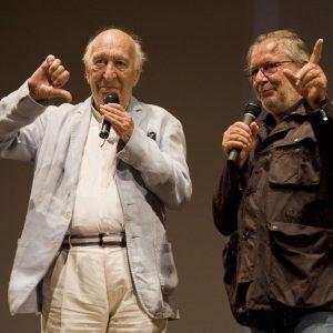 Giuliano Montaldo, Felice Laudadio - La valigia dell'attore 2013 - Foto di Nanni Angeli
