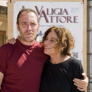 Valerio Mastandrea, Giovanna Gravina - La valigia dell'attore 2013 - Foto di Nanni Angeli 3