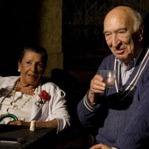 Vera Pescarolo, Giuliano Montaldo - La valigia dell'attore 2013 - Foto di Nanni Angeli