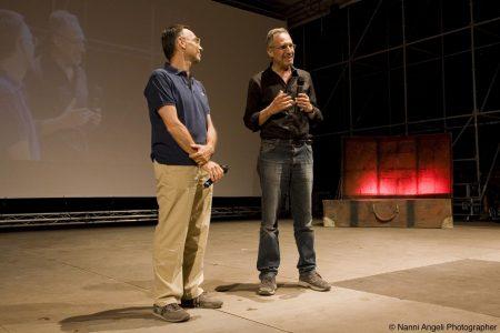 Fabrizio Deriu, Giovanni Columbu - La valigia dell'attore 2013 - Foto di Nanni Angeli