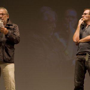 Valerio Mastandrea, Felice Laudadio - La valigia dell'attore 2013 - Foto di Nanni Angeli
