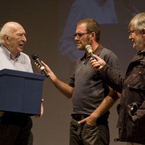 Premio Volonté - Giuliano Montaldo, Valerio Mastandrea, Felice Laudadio - La valigia dell'attore 2013 - Foto di Nanni Angeli 1