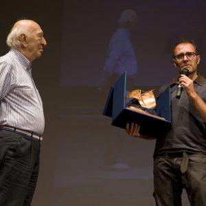 Premio Volonté - Giuliano Montaldo, Valerio Mastandrea - La valigia dell'attore 2013 - Foto di Nanni Angeli