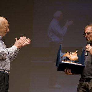 Premio Volonté - Giuliano Montaldo, Valerio Mastandrea - La valigia dell'attore 2013 - Foto di Nanni Angeli 1